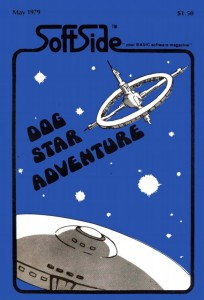 SoftSide's Dog Star Adventure issue