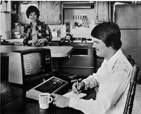 TRS-80 in the kitchen