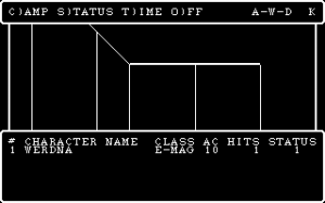 Wizardry IV, 1987. Not much has changed...