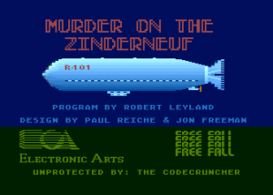 Murder on the Zinderneuf