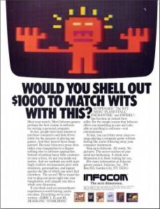 Infocom advertisement
