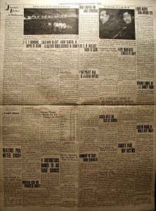 The Witness newspaper, back