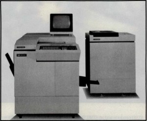 The Toshiba DF-2000, a typically elaborate optical-storage-based institutional archiving system of the 1980s