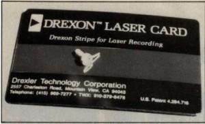 The Drexon Laser Card