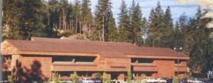 "The Sierra ""redwood"" building, custom-built for them in 1982"