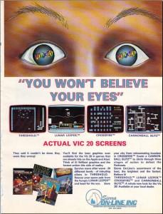 VIC-20 advertisements