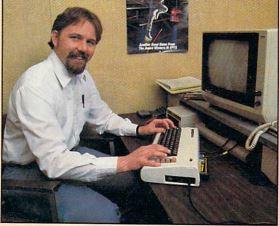 Randy Glover, developer of Jumpman