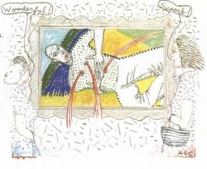 Alan E. Cober's illustration for Suspect