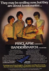 An advertisement for Imagine's never-released Bandersnatch