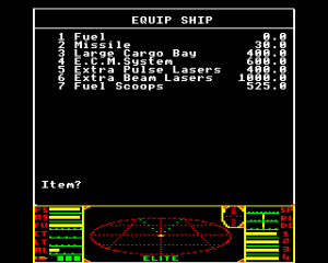 BBC Micro Elite