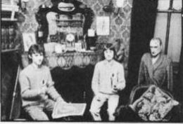 The Cunningham brothers sit with Sherlock himself in his study