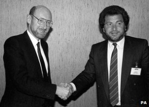 Clive Sinclair and Alan Sugar
