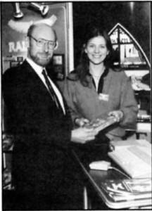 Clive Sinclair and Anita Sinclair