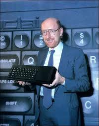 Clive Sinclair launches the QL