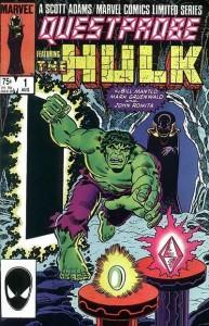 Marvel's Hulk QuestProbe issue