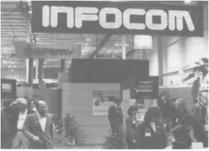 Infocom's display at the 1985 Winter CES.