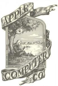The original Apple Computer logo