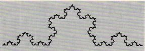 "a ""snowflake"" curve"