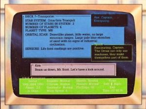 This alleged screenshot from the back of The Kobayashi Alternative's box is one of the most blatant instances of false advertising in gaming of the 1980s.