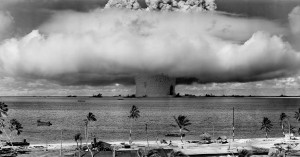 The second Operation Crossroads shot, July 25, 1946.