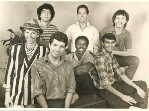 Interplay as of 1987. Even then, four years after the company's founding, all of the employees were still well shy of thirty.