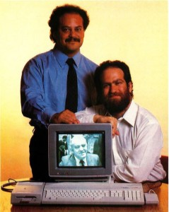 Sam and Leonard Tramiel, who would play a larger and larger role in the running of Atari as time went on.