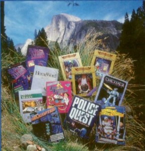 Some Sierra products of the latter 1980s
