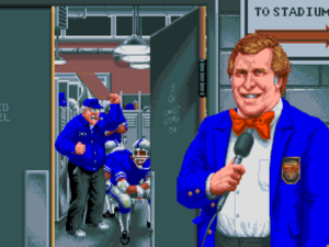 Electronic Arts may have had John Madden, but Cinemaware had Don Badden.