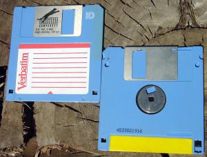 3 1/2 inch floppy disk