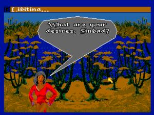 Libitina, Sinbad's rather painfully pixelatted lust interest.