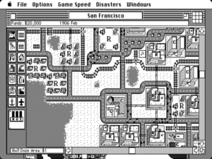 SimCity on the Macintosh