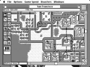 SimCity on the Macintosh