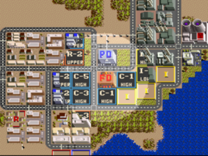 SimCity for Super Nintendo