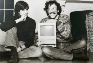 Steve Jobs and Bill Atkinson