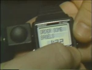 "An Apple Watch 27 years before its time? Just one example of the extraordinary innovation of the Macintosh market was the WristMac from Ex Machina, a ""personal information manager"" that could be synchronized with a Mac to function as your appointment calendar and a telephone Rolodex among other possibilities."