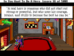 Hero's Quest's unabashedly positive message feels particularly bracing in this current Age of Irony of ours.