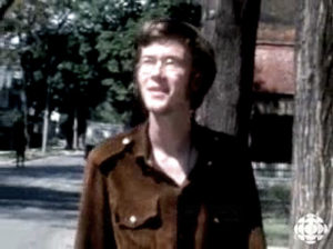 William Gibson on the road, 1967