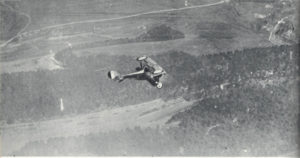A Nieuport 17 on patrol.
